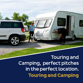 Touring and Camping, perfect pitches in the perfect location. Touring and Camping